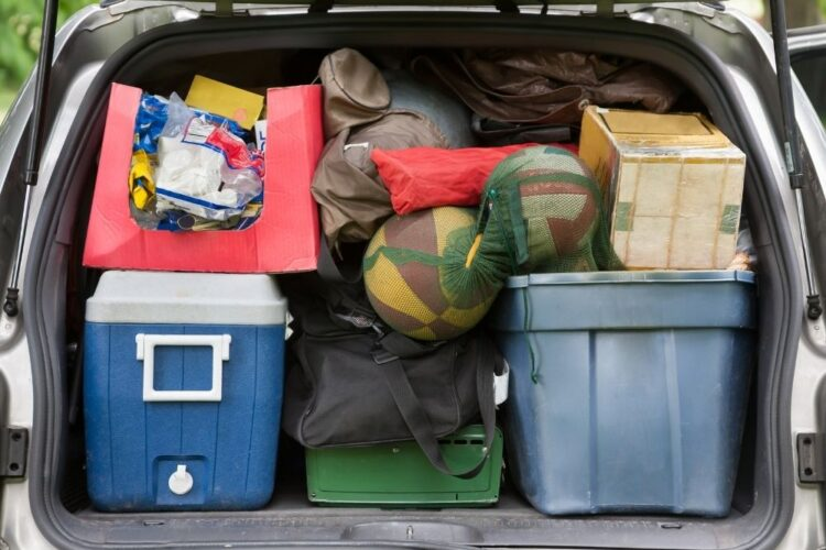 car full of your camp packing list
