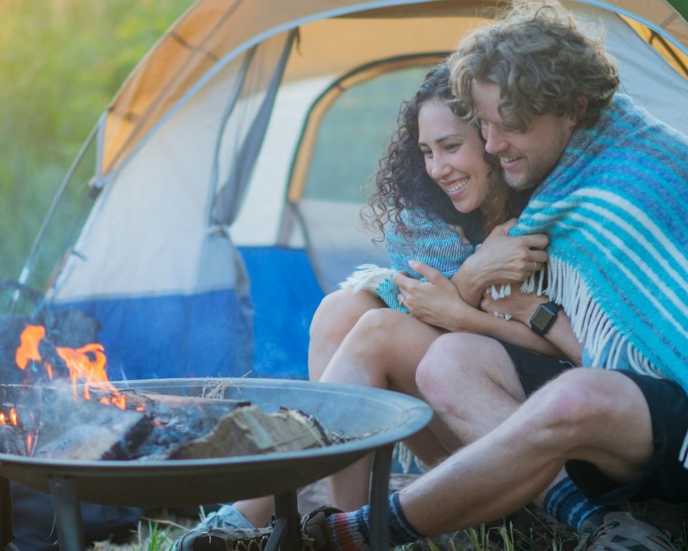 things to do while camping as a couple